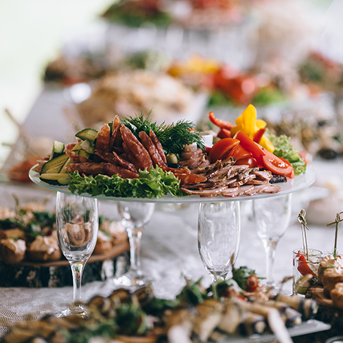 Business catering menus